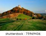 calvary in banska stiavnica ... | Shutterstock . vector #75969436
