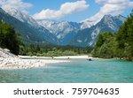 Small photo of Soca near Zaga, Slovenia