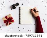 goals plans dreams make to do... | Shutterstock . vector #759711991