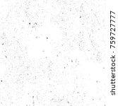 grunge black and white pattern. ... | Shutterstock . vector #759727777