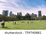 editorial many people enjoying... | Shutterstock . vector #759740881