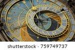 Astronomical Clock Tower Detail ...