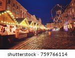 beautiful city center and... | Shutterstock . vector #759766114