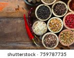 variety of different asian and... | Shutterstock . vector #759787735