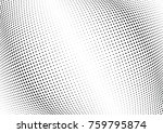 abstract halftone wave dotted... | Shutterstock .eps vector #759795874
