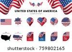united states of america... | Shutterstock .eps vector #759802165