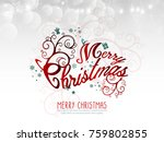 vector illustration abstract... | Shutterstock .eps vector #759802855