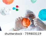 Chemist Working In The...