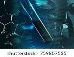 laboratory data. science... | Shutterstock . vector #759807535