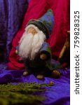 Small photo of gnome toys Waldorf felted wool