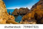 coastal exposure of the... | Shutterstock . vector #759847321