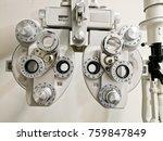 bifocal optometry eyesight... | Shutterstock . vector #759847849