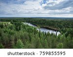 the view from the heights of... | Shutterstock . vector #759855595