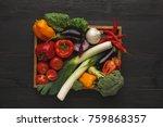 heap of fresh organic...   Shutterstock . vector #759868357