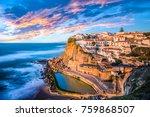 azenhas do mar  sintra near... | Shutterstock . vector #759868507