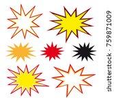 comic strip graphic novel...   Shutterstock .eps vector #759871009
