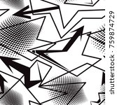 abstract seamless grunge... | Shutterstock .eps vector #759874729