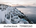 view of famous white buildings... | Shutterstock . vector #759885265