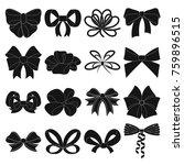 ribbon  basma  bandage  and... | Shutterstock . vector #759896515