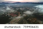 aerial view. flying high above... | Shutterstock . vector #759906631