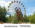 Abandoned Ferris Wheel In...