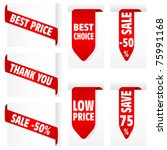 collect sticker  element for... | Shutterstock . vector #75991168