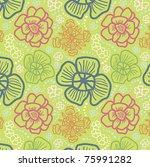 tender green pattern   Shutterstock .eps vector #75991282