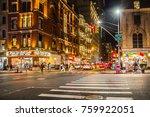 new york city   september 28 ... | Shutterstock . vector #759922051