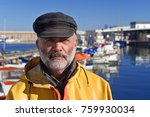 Portrait Of A Fisherman In The...