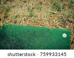 abandoned golf course old grass ... | Shutterstock . vector #759933145