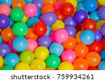 ball color for child   colorful ... | Shutterstock . vector #759934261