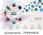 business concepts for analysis... | Shutterstock .eps vector #759945829