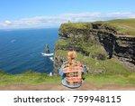 cliffs of moher  | Shutterstock . vector #759948115