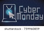 banner with shopping bag... | Shutterstock .eps vector #759960859