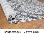 close up carpet on laminate... | Shutterstock . vector #759961801