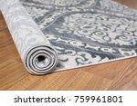 close up carpet on laminate... | Shutterstock . vector #759961801
