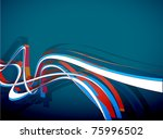 abstract wave design background ...