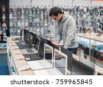 smart modern male customer...   Shutterstock . vector #759965845