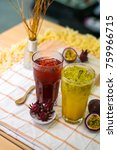 Small photo of Passion fruit juice and Roselle juice