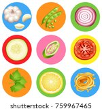 badge design with many... | Shutterstock .eps vector #759967465