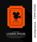 movie and film modern retro...   Shutterstock .eps vector #759974704