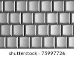 Blank Laptop Keyboard