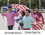 shah alam  malaysia   august 14 ... | Shutterstock . vector #759978979