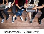 back to school education... | Shutterstock . vector #760010944