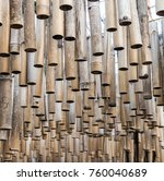a bamboo sticks hang from the... | Shutterstock . vector #760040689