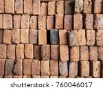 old style bricks wall | Shutterstock . vector #760046017