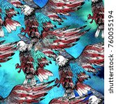 watercolor texture seamless... | Shutterstock . vector #760055194
