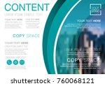 presentation layout design... | Shutterstock .eps vector #760068121