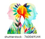 mastermind  chakra power ... | Shutterstock . vector #760069144