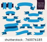 vector collection of decorative ... | Shutterstock .eps vector #760076185